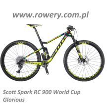 Scott Spark 900 RC WC Glorious Logo PLUS